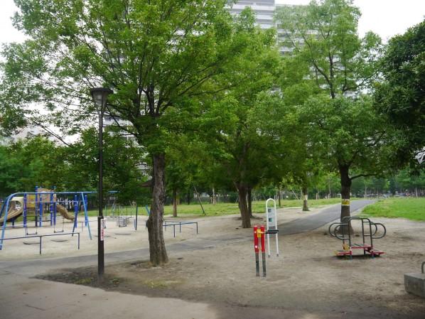 普段面会交流が行われる公園